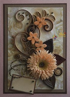 Absolutely gorgeous quilled creations by Neli.