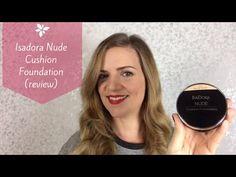 Review de una nueva base de maquillaje que me ha conquistado: Nude Cushion Foundation de IsaDora.