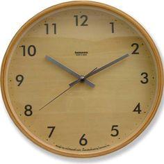 Bamboo Clock Round