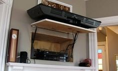 Diy Accessory-hiding Tv Compartment