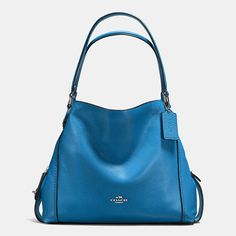 Shop The COACH Edie Shoulder Bag 31 In Polished Pebble Leather. Enjoy Complimentary Shipping & Returns! Find Designer Bags, Wallets, Shoes & More At COACH.com!