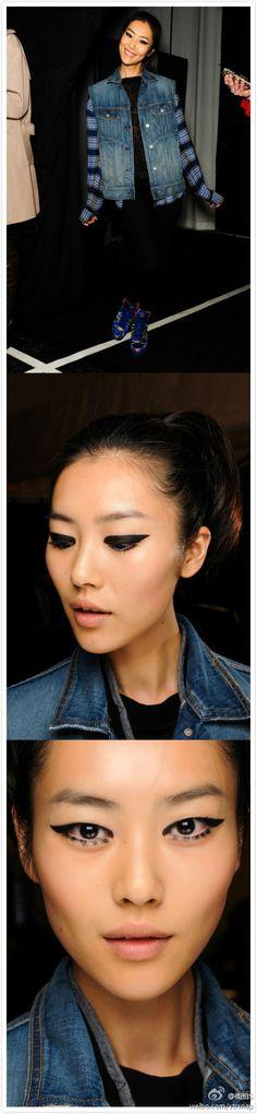 {Liu Wen, Eyes}