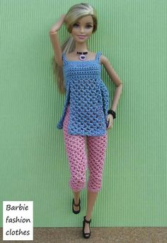 37 ideas crochet doll dress barbie patterns for 2019 Barbie Knitting Patterns, Barbie Clothes Patterns, Clothing Patterns, Dress Patterns, Crochet Doll Dress, Crochet Barbie Clothes, Crochet Dresses, Barbie Dress, Barbie Doll