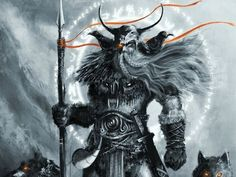 Dioses de la mitologia nordica: Odín: Odín está considerado como el rey de los…