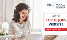 List of Top 10 Jobs Website for Women Freelancers