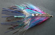 "A Squidtruder - An Intruder style fly for steelhead. A very different style from the Scandinavian. From <a href=""http://www.canadiantubeflies.com/"">Canadian Tube Flies</a>."