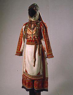 Чувашские национальные костюмы: женский-Chuvash's