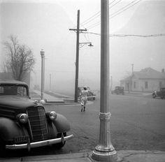 Arthur Rothstein - Dust storm, Amarillo, Texas, 1936