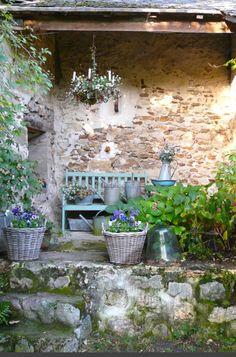 Wat een prachtig gezicht, echt een cottage tuin Door Lisanne08