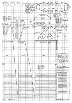 1822 dress Pattern