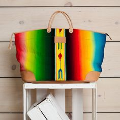 Made from a serape