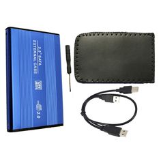 "External USB 2.0 to HARD DISK DRIVE SATA 2.5"" inch HDD Adapter CASE Enclosure Box for PC Computer Laptop Notebook"