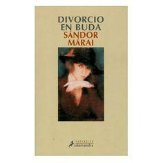Divorcio en Buda Sándor Marai