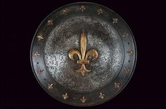 A shield, France 19th century.