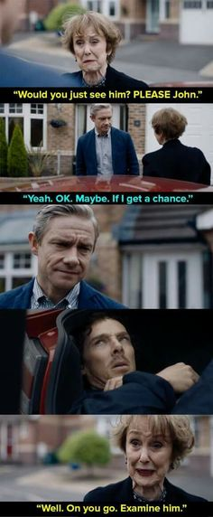 Mrs Hudson, you're The Best xD I just love it how she tricks Sherlock at gunpoint. Srsy, You're The Best neighbor anybody could wish for