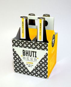South African based Judy Kriel won an award for this beer packaging concept.   #packaging #packagingdesign #packagedesign #alcohol #beer #concept #design #graphicdesign #blackandyellow #southafrican #southafrica #africandesign #africanpackaging #creative #branding #brandidentity #brandidentitydesign #packaginginspiration #inspiration #designinspiration