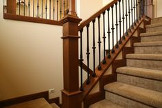 1000 images about stairways railings on pinterest for Pre built stairs interior