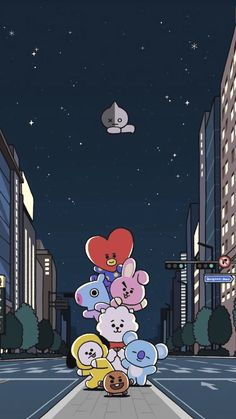 Most Great Bts Anime Wallpaper IPhone Bts Backgrounds, Cute Wallpaper Backgrounds, Wallpaper Iphone Cute, Bts Wallpaper, Bts Chibi, Bts Drawings, Cute Cartoon Wallpapers, Kawaii Wallpaper, Bts Lockscreen