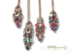 Statement necklace  Statement jewelry  OOAKjewelz by OOAKjewelz, €149.95