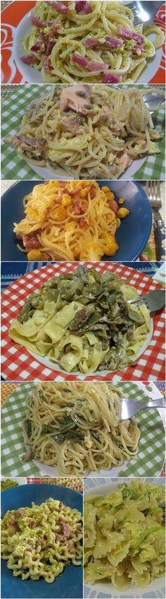 Pasta alla carbonara, tante variante gustose e sfiziose alla classica ricetta! #carbonara #pasta #carbonaraday #ricettegustose