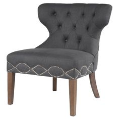 https://www.scenariohome.com/collections/shop-unique-stylish-chairs/products/tufted-wing-chair-with-nailhead-trim-charcoal-grey