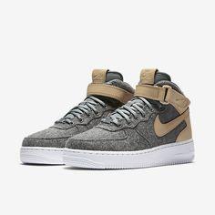 5fc2c3de163d4 Nike Air Force 1 07 Mid Leather Premium Women s Shoe