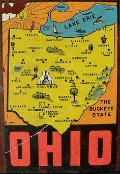 Vintage Ohio Decal