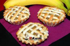 Tarte a la banane, recette typique de l'île Maurice.