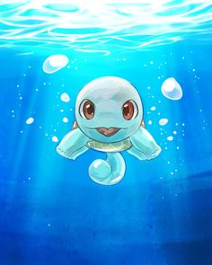 Hmm... I'm not sure what your supposed to be..bubble bubble,but I'm a turtle and my name is Squirtle ..nice to meet you!