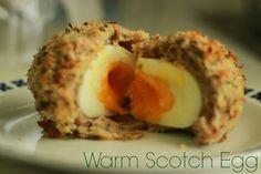 Warm Scotch Eggs