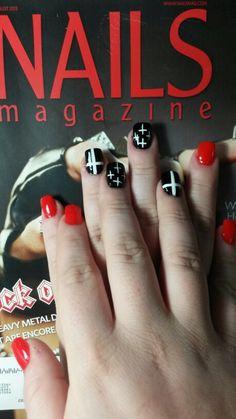 Nail art Edwin Jeans, Nail Art, Engagement Rings, Nails, Jewelry, Enagement Rings, Finger Nails, Wedding Rings, Jewlery