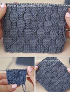Baby Knitting Patterns, Knitting Designs, Free Knitting, Crochet Patterns, Crochet Stitches, Knit Crochet, Crochet Clothes, Herringbone Stitch, Ideas Para