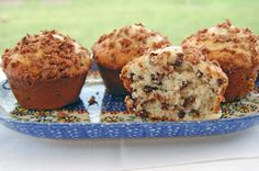 Coconut Chocolate Chip Muffins with Cocoa Coconut Streusel Recipe on Yummly. @yummly #recipe