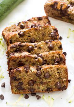 CHOCOLATE CHIP ZUCCHINI BREAD Really nice recipes. Every  Mein Blog: Alles rund um Genuss & Geschmack  Kochen Backen Braten Vorspeisen Mains & Desserts!