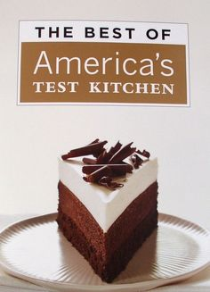 Triple-Chocolate Mousse Cake America's Test Kitchen ATK Americas