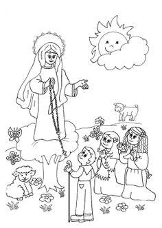 imagenes de la virgen maria para pintar