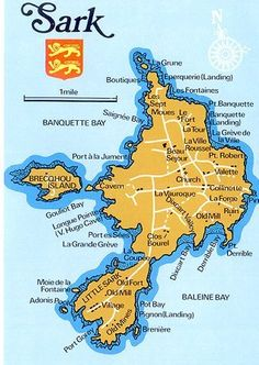 Map of Sark - Sark (French: Sercq; Sercquiais: Sèr or Cerq) is a small island in the Channel Islands in the southwestern English Channel, off the coast of Normandy, France.