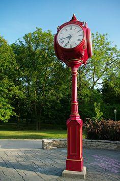 Clock by StevenW., Bloomington, Indiana via Flickr