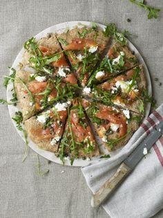 Easy spelt pizza | Jamie Oliver