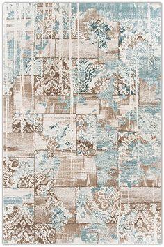 Flora Troya 0738A KREM - Oturma Odası Halısı
