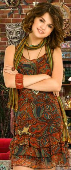 Selena Gomez as Alex Russo in Wizards Of Waverly Place. (Wizards Of Waverly Place photo shoot.)