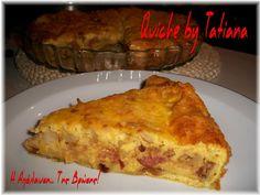 Η απόλαυση της βρώσης: Quiche με λουκάνικο Τρικάλων (Κις)