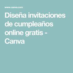 Diseña invitaciones de cumpleaños online gratis - Canva