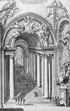 Bernini's Staircase Rome, Italy