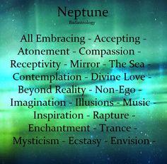 Astrology: Neptune Keywords | #Astrology #Neptune