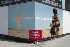 BBC World: See Both Sides of the Story : Print Ads : Sanjeev.NETwork