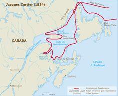 Jacques Cartier 1534-1542