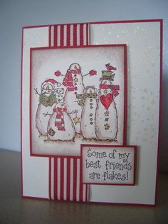 "WT336 SC346 Snow ""Flakes"" by stampin'nana - Cards and Paper Crafts at Splitcoaststampers"