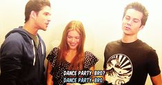 dylan, lol, and holland resmi
