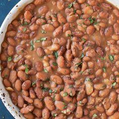 No Soak Instant Pot Pinto Beans Recipe - Life Made Simple Instant Pot Pressure Cooker, Pressure Cooker Recipes, Pressure Cooking, Pressure Cooker Beans, Pressure Pot, Instant Pot Beans Recipe, Instant Pot Dinner Recipes, Crockpot Recipes, Cooking Recipes